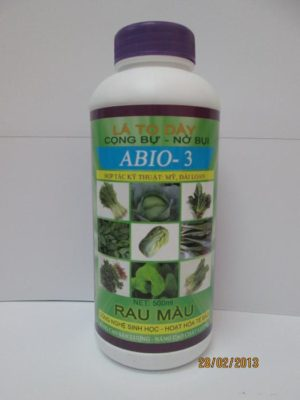 ABIO - 3 Rau màu